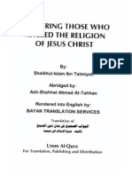 Answering.Those Who.Altered.The.Religion.Of.Christ //IbnTaymiyya//