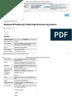 Notebook HP Pavilion g4-2368la_ Especificaciones del producto _ Soporte HP®