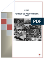 economia peruana 1930