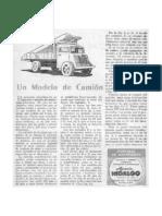 Un Modelo de Camion