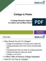 collegeispower