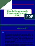 Uso de elementos de protección personal