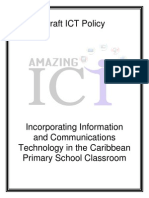 draft policu incorporating ict in the caribbean primary school classroom