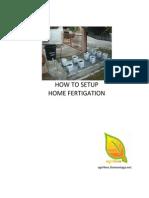 Fertigation Setup