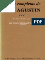 San Agustin 27 Escritos Biblicos 3