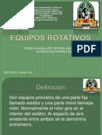 EQUIPOS ROTATIVOS