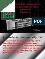 Las 6 Redes Sociales Mas Peligrosas