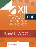 Original 1 Simulado Oab Xii Exame 1 Fase
