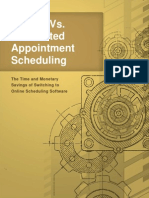 Manual vs Automated Appointment Scheduling