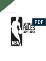 2011/12 NBA Rule Book