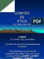 COMITÉS DE ETICA
