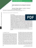Wilkinson Et Al 2012, Practical Array Optimisation