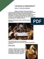 Que fim levaram os Apóstolos ?