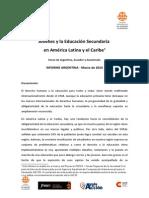 CONSULTA JOVENES - INFORME ARGENTINA CADE Marzo 2013