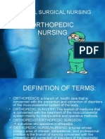 Medical Surgical Nursing Orthopedic[1]