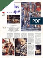 """article """"la creche napolitaine"""" paru dans les pages de 24heures le 24 décembre 1996"""