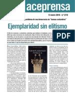 """Javier Gomá afronta el problema de una democracia sin """"buenas costumbres"""" Ejemplaridad sin elitismo"""