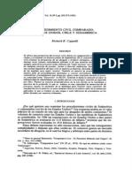 Cappalli - Procedimiento Civil Comparado. Estados Unidos Chile y Sudamerica (1)