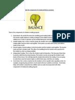 R-2. Explain the Components of a Balanced Literacy Program