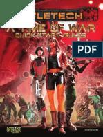 A Time of War - Battletech Quickstart