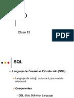 Clase 15 - Lenguaje de Consultas Estruturado (SQL)
