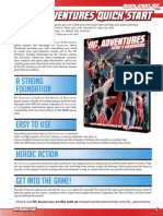DC Adventures Quick Start