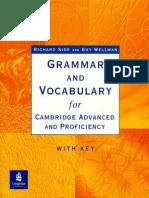 Vocabulary for Cambridge Advancedand Proficiency
