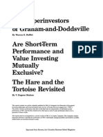 The Superinvestors of Graham and Doddsville by Warren Buffett