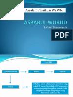 ASBABUL WURUD