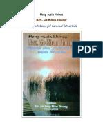 Hong nusia khinsa  Rev. Go Khen Thang'  ciamnuih kam, pil kammal leh article