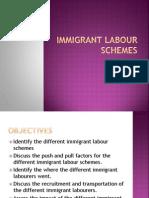 Immigrant Labour Schemes Ppt