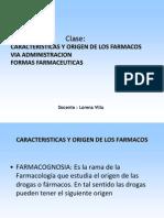 Forma Farmaceutica y via de Adm III