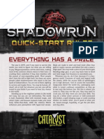 Shadowrun 5th - Quick-Start Rules