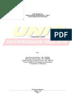 Projeto Integrado Multidisciplinar IV - Pim IV