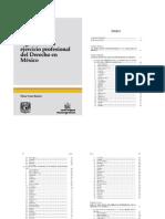 ASPECTOS DE LA REGULACION DEL EJERCICIO PROFESIONAL DEL DERECHO EN MÉXICO por Oscar Cruz Barney
