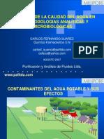 Incidencia de La Calidad Del Agua en Metodologias 2