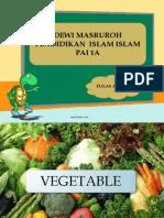 Sayuran (D. Masitoh)