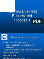 Chapter 10 Planning Business Reports and Proposals 10