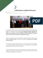 08-06-2013 Foro Político Digital.info - Moreno Valle, ratificó pleno respaldo al Pacto por México.