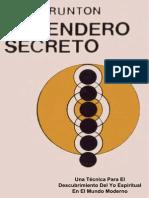 El+Sendero+Secreto+(Paul+Brunton)