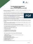Customer Specific Requirements FIASA-Powertrain 2012