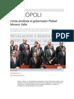 28-05-20-13 - Síntesis Metrópoli - Rinde protesta el gobernador Rafael Moreno Valle