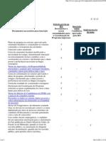 DR SANDUICHE-Documentos para inscrição