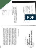 Defensa e Ilustracion de La Sociologia Historica (Ludolfo Paramio)