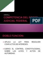 Competencia Del Poder Judicial Federal