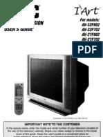25732F802 Jvc Usuer Manual
