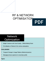 RF Cellular Optimization