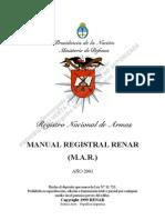 Renar Manual Registral