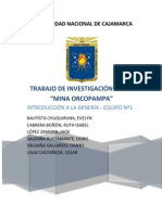 Minera Orcopampa