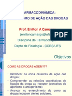 2- FARMACODINÂMICA MECANISMO DE AÇÃO DAS DROGAS (1)